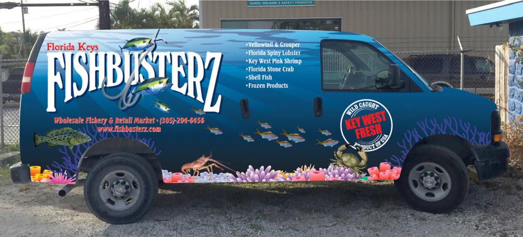 Fishbusterz Van